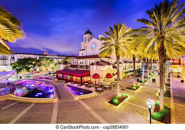 West Palm Beach, Florida - csp38834061