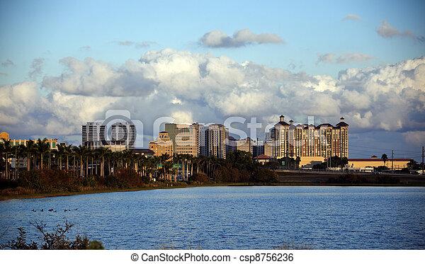 West Palm Beach, Florida - csp8756236