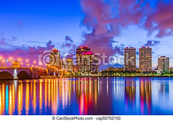 West Palm Beach Florida - csp50702150