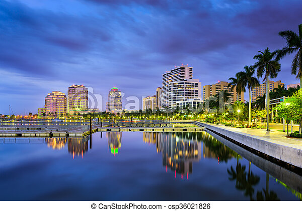 West Palm Beach Florida - csp36021826