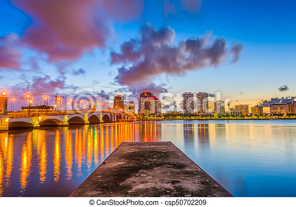 West Palm Beach, Florida - csp50702209