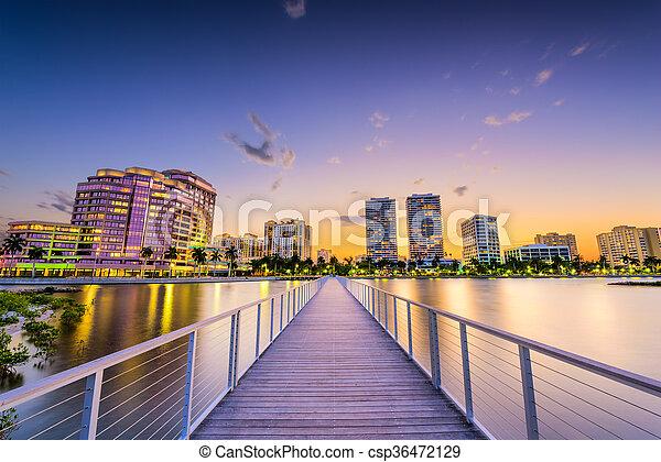 West Palm Beach - csp36472129