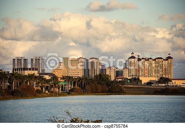 West Palm Beach - csp8755784