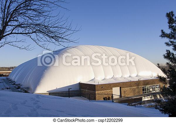 West Saint Paul Sports Dome Exterior - csp12202299