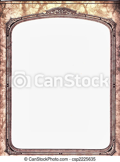 Western frame. An antique frame.
