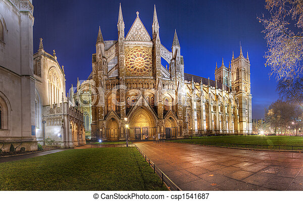 Westminster Abbey Panorama - csp1541687
