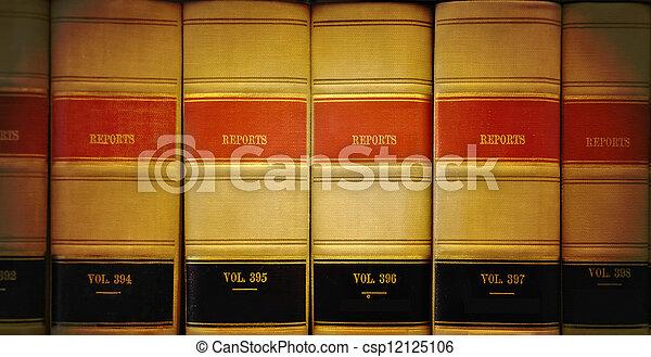 wet boeekt, bibliotheek - csp12125106