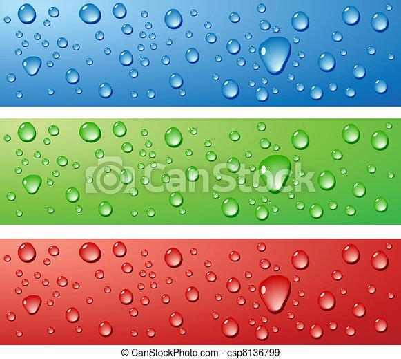 Wet surfaces. - csp8136799