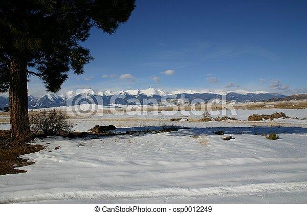 Wet Valley Snows - csp0012249