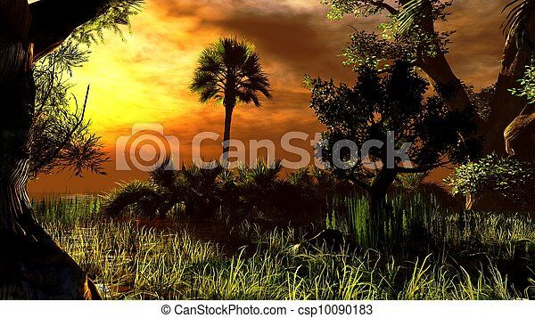 Wetland - swamp - csp10090183