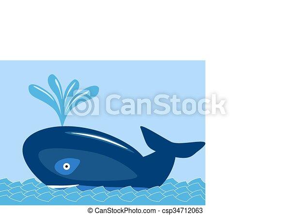whale  - csp34712063