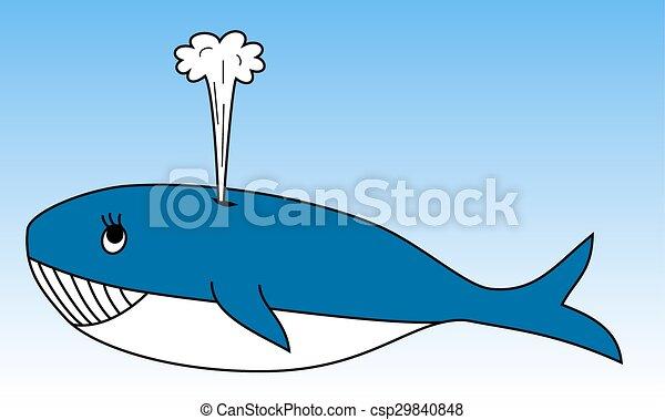 Whale - csp29840848