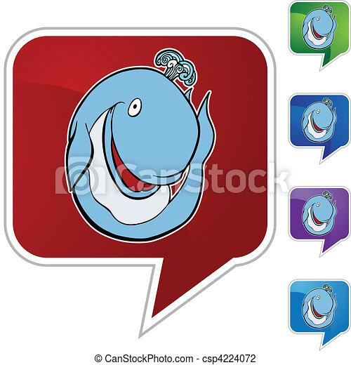 Whale - csp4224072