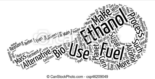 What Is Ethanol >> What Is Ethanol Text Background Word Cloud Concept