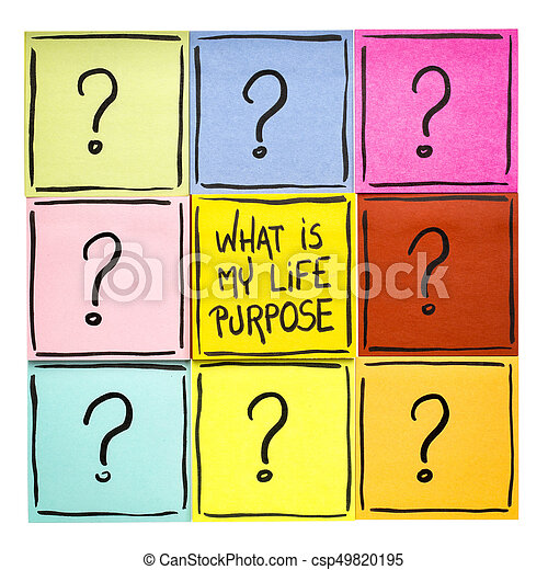 What is my life purpose? - csp49820195