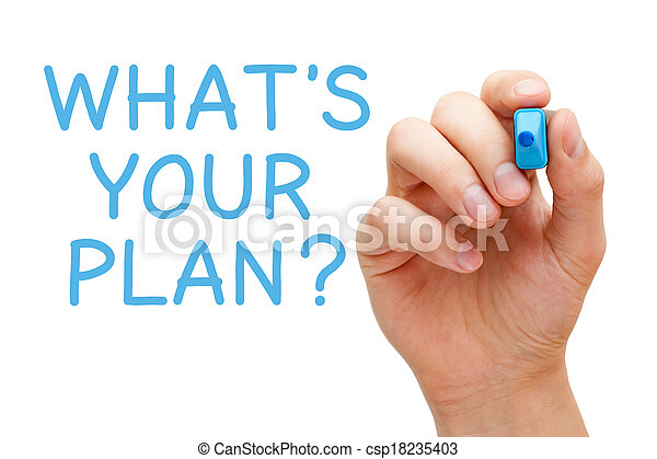 What is Your Plan - csp18235403
