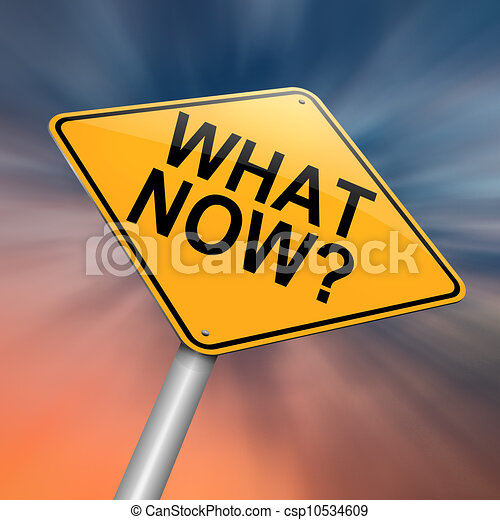 What now. - csp10534609