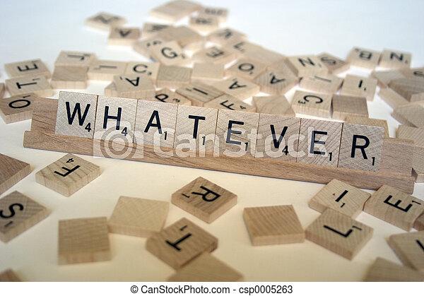 Whatever - csp0005263