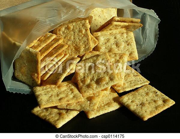wheat crackers - csp0114175
