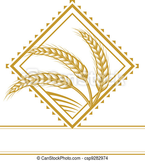 Wheat Diamond - csp9282974
