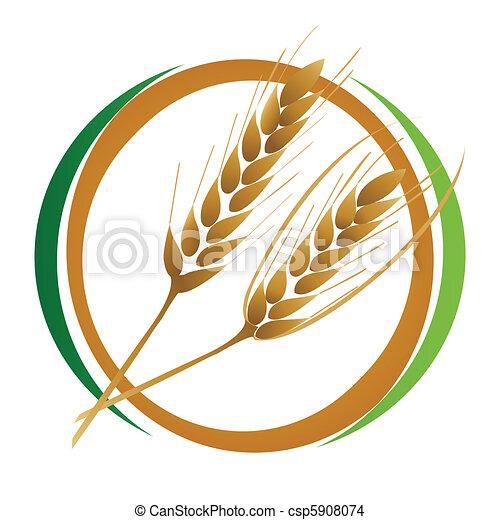 Wheat icon - csp5908074