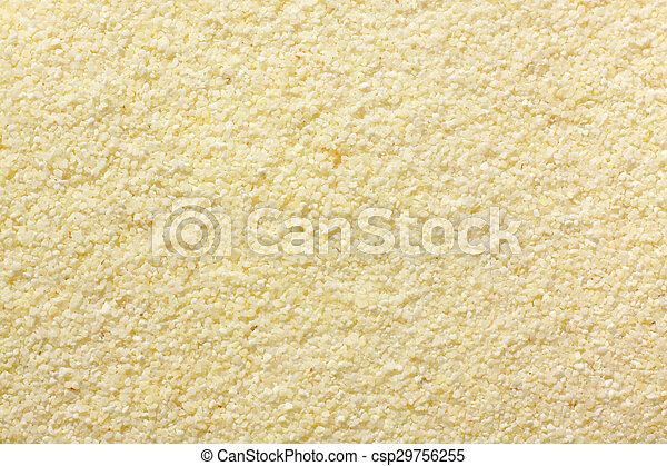 Wheat semolina (farina) - csp29756255