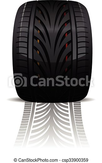 Wheel vector illustration - csp33900359