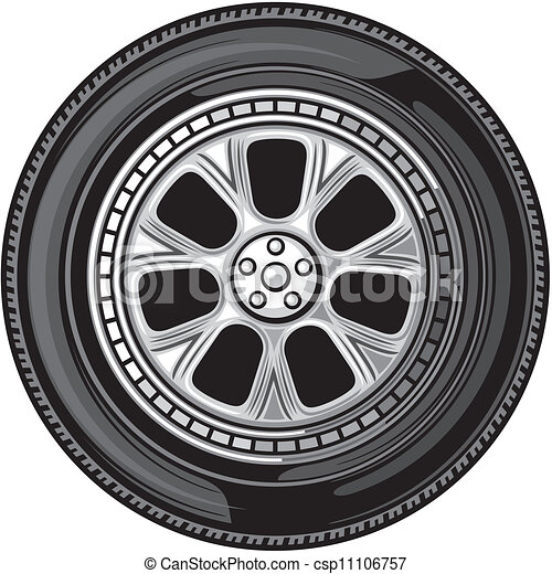 wheel (vector tyre) - csp11106757