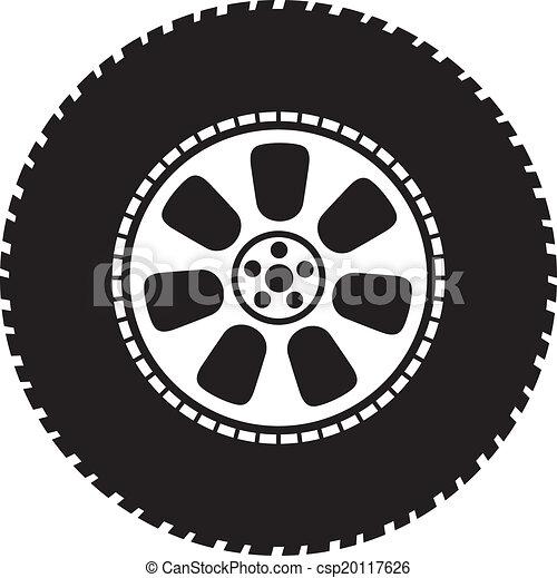 wheel - vector tyre - csp20117626