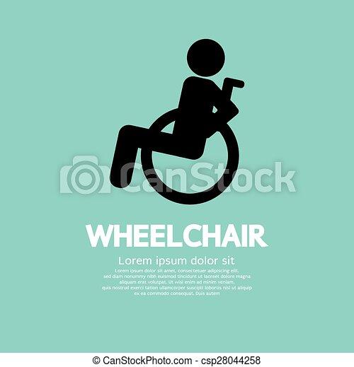 Wheelchair. - csp28044258