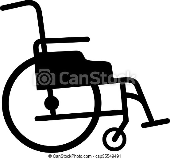 wheelchair sahde picture eps vectors search clip art rh canstockphoto com wheelchair clip art funny wheelchair clipart graphics