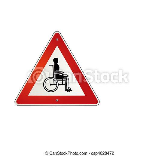 wheelchair - csp4028472