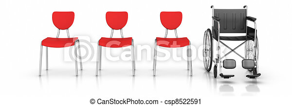 Wheelchair - Individuality Concept - csp8522591