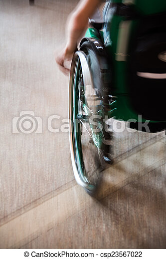 wheelchair - csp23567022