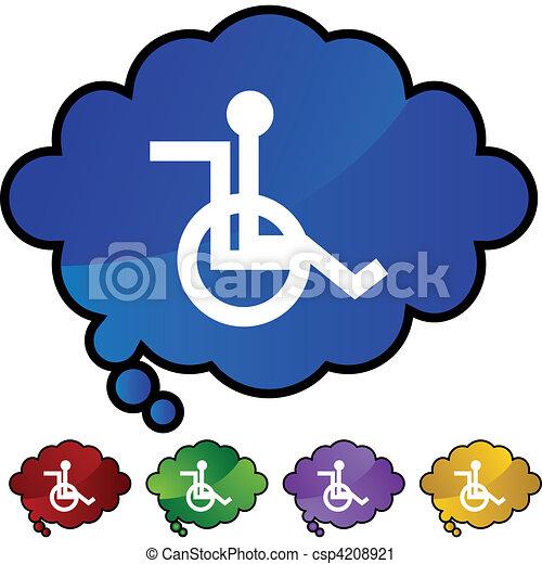 Wheelchair - csp4208921