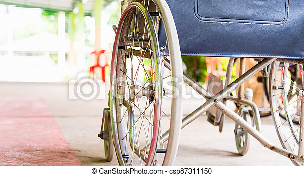 wheelchairs in the hospital - csp87311150