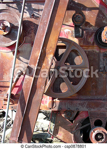 Wheels and Steel - csp0878801