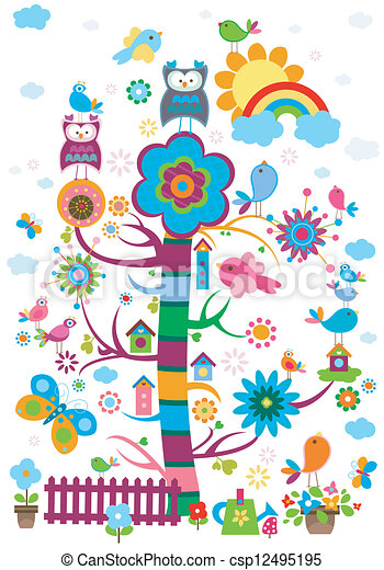 whimsy, jardim - csp12495195