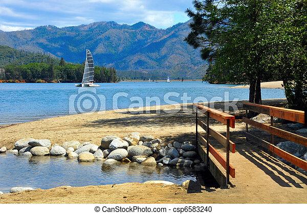 Whiskeytown Lake, California - csp6583240
