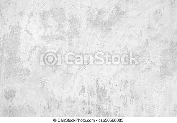 White abstract background texture concrete wall - csp50568085