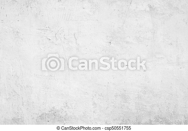 White abstract background texture concrete wall - csp50551755