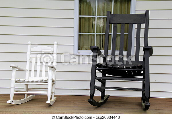 Enjoyable White And Black Rocking Chairs Bralicious Painted Fabric Chair Ideas Braliciousco