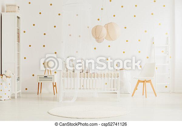 White baby room - csp52741126