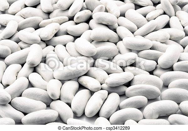 White beans - csp3412289