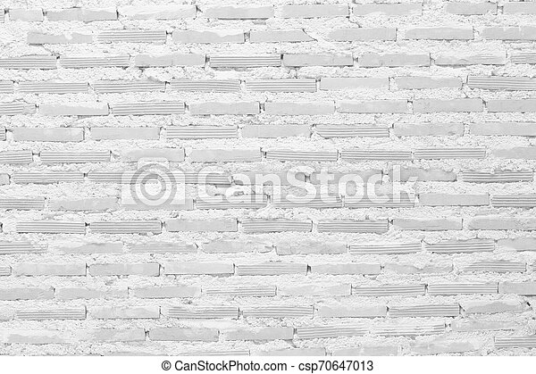 White block wall for background - csp70647013