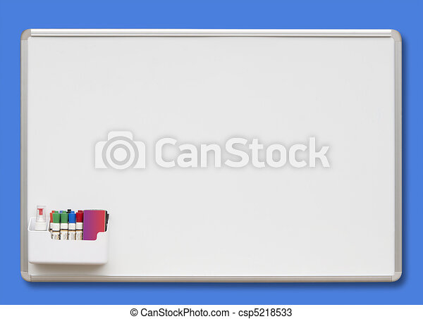 white board isolated white board with colored markers drawings rh canstockphoto com mini whiteboard clipart whiteboard clip art free