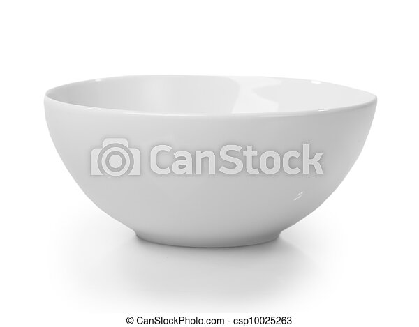 White bowl - csp10025263