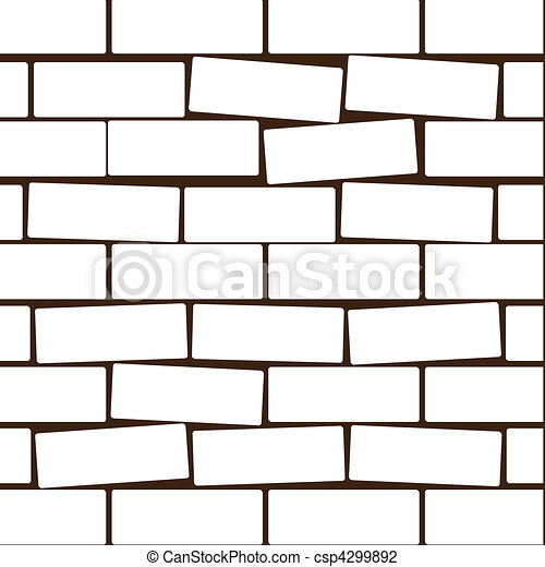 white brick vector illustration background of a wall from a white rh canstockphoto com