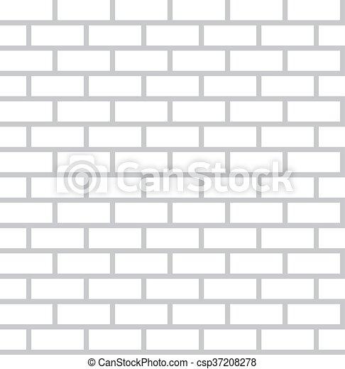 White Bricks Background