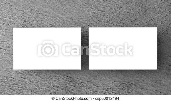White business cards on white background mockup for stock white business cards on white background mockup for branding 3d render csp50012494 colourmoves